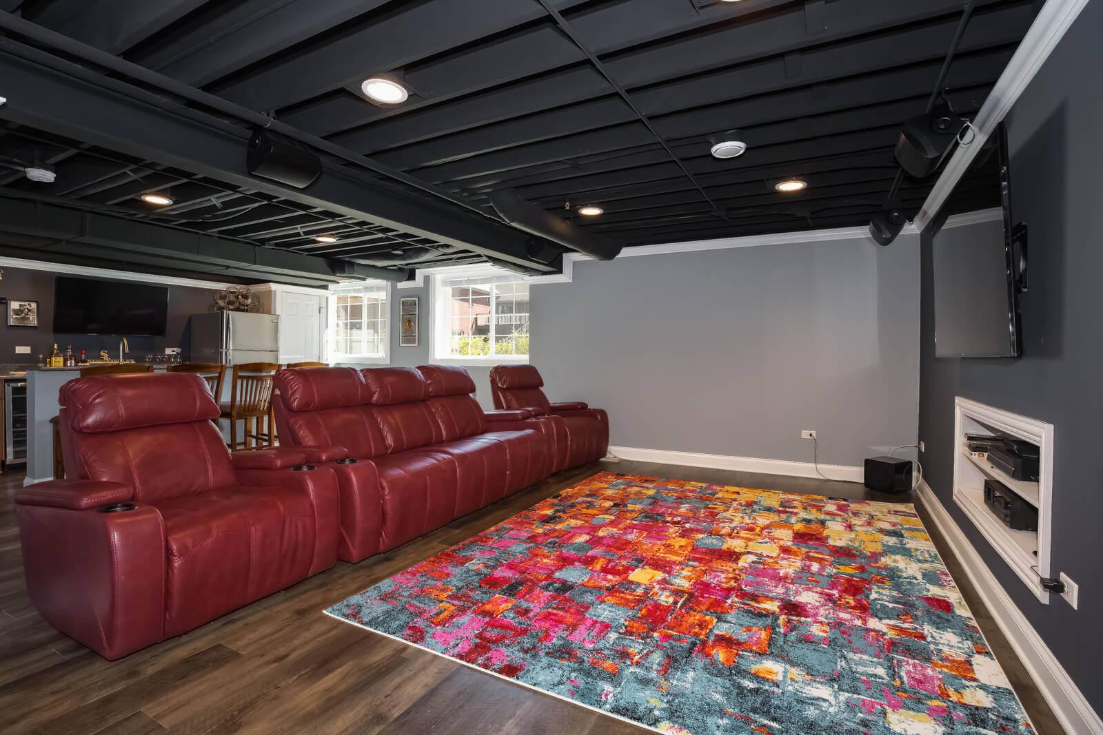 Basement Remodeling Portfolio From Home Builder Remodeler