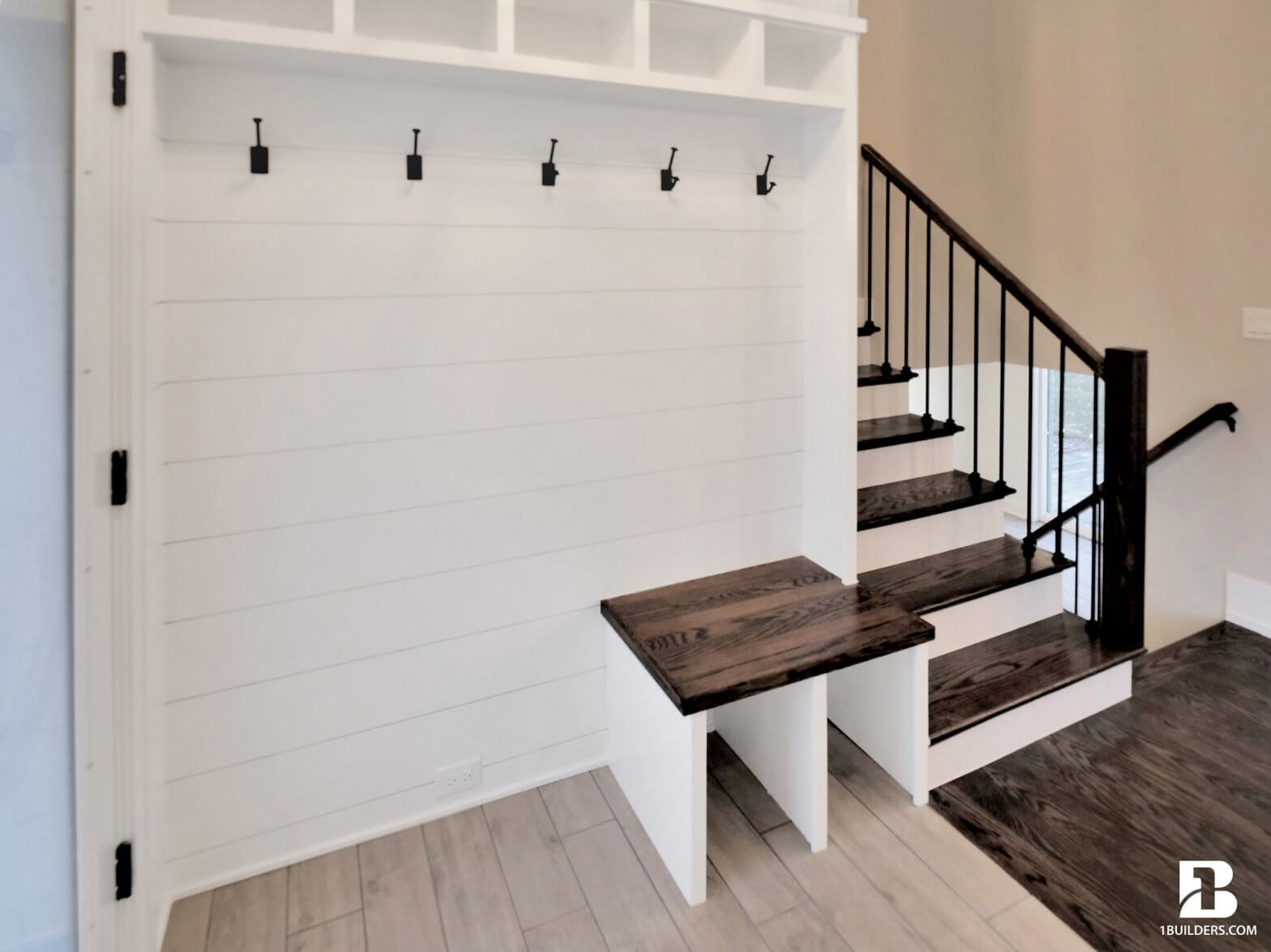 magnificent mudroom built by home remodeling contractor